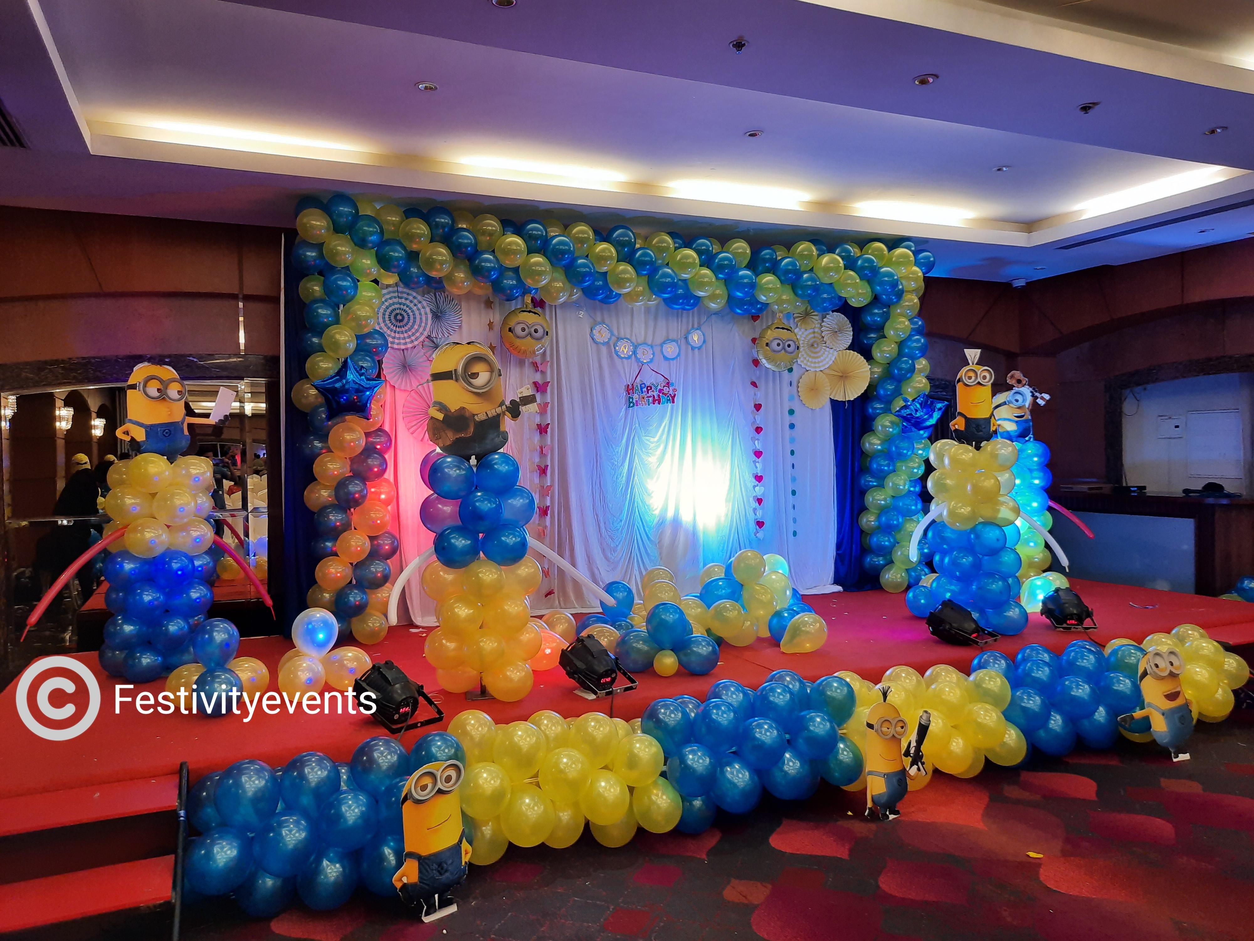 Minion Theme Decorations